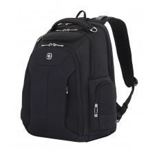 Рюкзак WENGER 17'', бизнес/черный, полиэстер 900D/рипстоп, 30,5x17,8x45,7 см, 31л