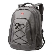 Рюкзак WENGER цв. т. серый/св. серый 33х19х45 см (28л.)