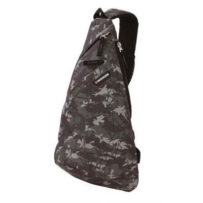 Рюкзак WENGER с одним плечевым ремнем камуфляж 7 л