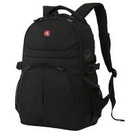 Рюкзак WENGER чёрный 33х15х45 см, 22 л