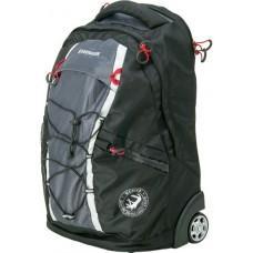 Рюкзак на колёсах WENGER, чёрный/серый 35 л