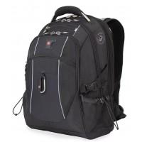 """Рюкзак WENGER 15"""" чёрный-серый 900D/420D/М2 добби 34x23x48 см 38 л"""