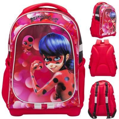 Леди Баг школьный рюкзак + пенал