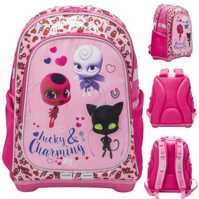Леди Баг школьный рюкзак