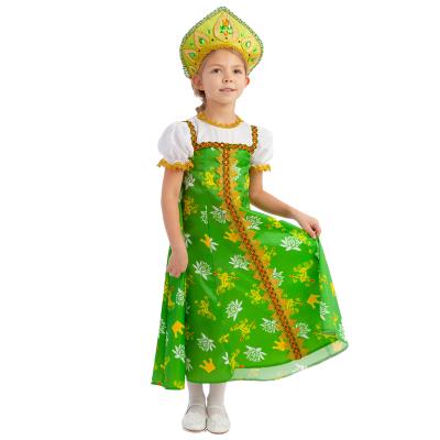 Детский карнавальный костюм Царевна- Лягушка 1053 к-19