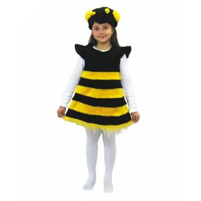 Карнавальный костюм Пчелка (мех) р.28 136
