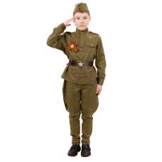 Детский костюм солдата 2032 к-18