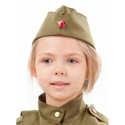 Пилотка Солдатка детская 2035 к-18