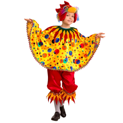Карнавальный костюм Петушок Кукарека (Зв. Маскарад) 413