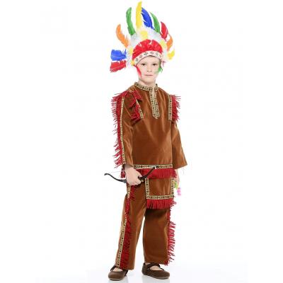 Детский костюм Индеец (зв.маскарад) 421