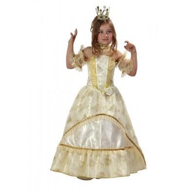 Карнавальный костюм Золушка-Принцесса золотая (зв.маскарад) 483