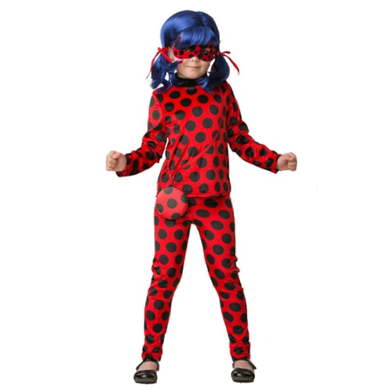 Детский карнавальный костюм Леди Баг 498 с париком и ... - photo#18