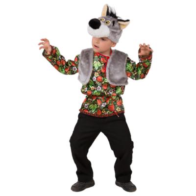 Карнавальный костюм Волчонок Ерёмка (Русский стиль) 5000