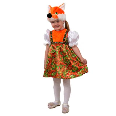 Карнавальный костюм Лиса Лизавета (Русский стиль) 5010