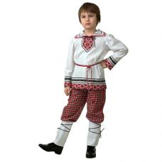 Детская национальная рубашка вышиванка (мальчик) 5601-1