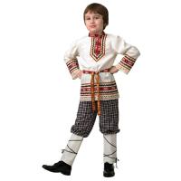 Детская славянская Рубашка вышиванка (мальчик) 5603-1