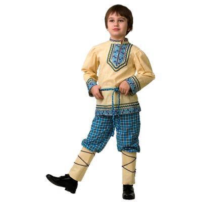 Детский Народный костюм Рубашка вышиванка (мальчик) 5605-1