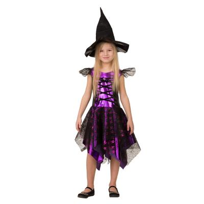 Карнавальный костюм Ведьмочка-2 8076