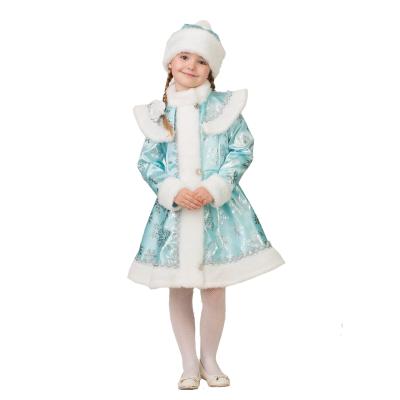 Карнавальный костюм Снегурочка бирюзовая