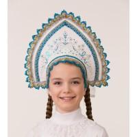 Кокошник Зимние узоры (для детей) 5409