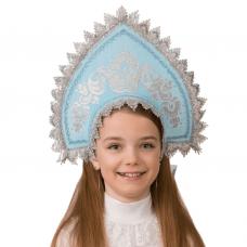 Кокошник Серебрянка (для детей) 5410