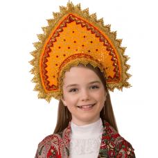 Кокошник Янтарная (для детей) 5415