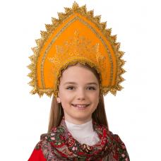 Кокошник Зорюшка (для детей) 5416
