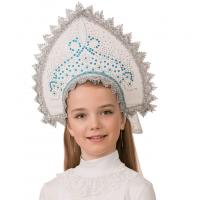 Кокошник Ледяная (для детей) 5417