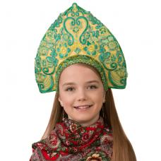 Кокошник Царская (для детей) 5420