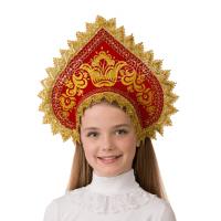 Кокошник Сударушка (для детей) 5404
