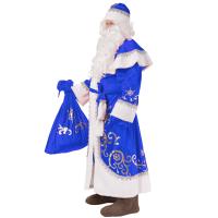 Дед Мороз плюш взрослый 3005 к-18