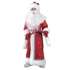 Дед Мороз плюш красный детский 178