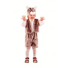 Кот серый (мех) р.28 108