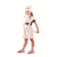 Кошка белая (мех) р.28 109