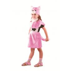 Кошка розовая (мех) р.28 110