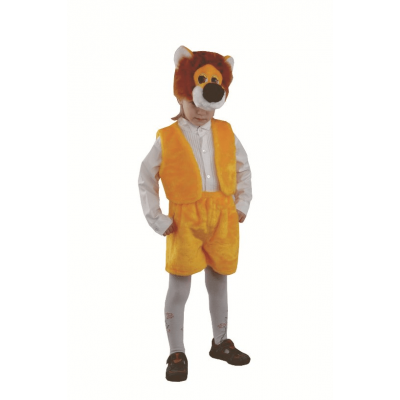 Карнавальный костюм Лев (мех) р.28 113