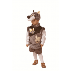 Волчонок Зубастик (плюш) р.28 267