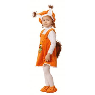 Карнавальный костюм Белочка (крошки) р.26 281