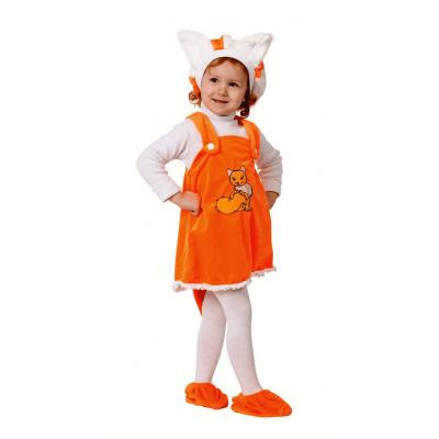 Карнавальный костюм Лисичка (крошки) р.26 290