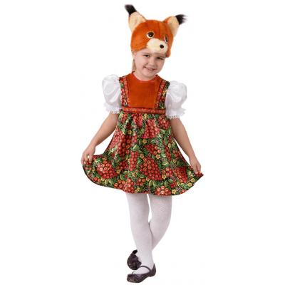 Карнавальный костюм Белка Златка (Русский стиль) 5001
