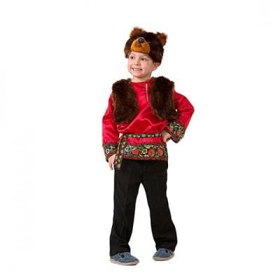 Карнавальный костюм Мишка Захарка (Русский стиль) 5005