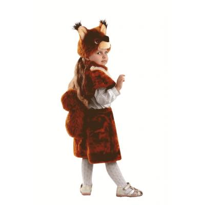 Карнавальный костюм Белка Дорка (премьер-мех) 501