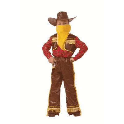 Карнавальный костюм Ковбой желтый 7013-1