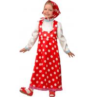 Детский карнавальный костюм Маша 8031 горох