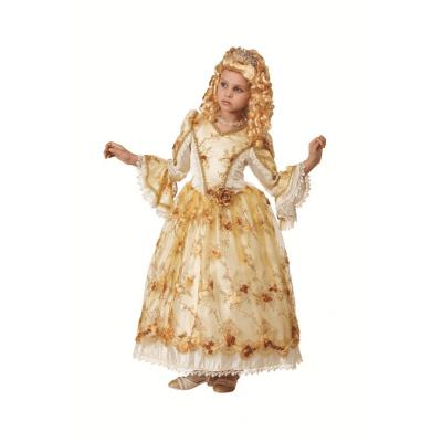 Детское платье Золушка Золотая (К-премьер) 925