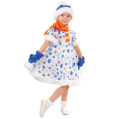 Новогодний костюм Снеговик Снежана