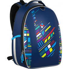 Рюкзак школьный с эргономичной спинкой Graphic (модель Multi Pack)