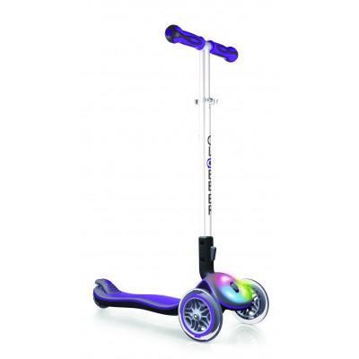 Самокат Globber ELITE F (свет. платформа), Фиолетовый