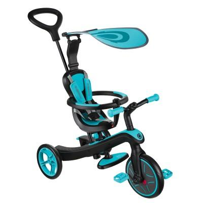 Велосипед Globber Trike Explorer (4 IN 1), Голубой