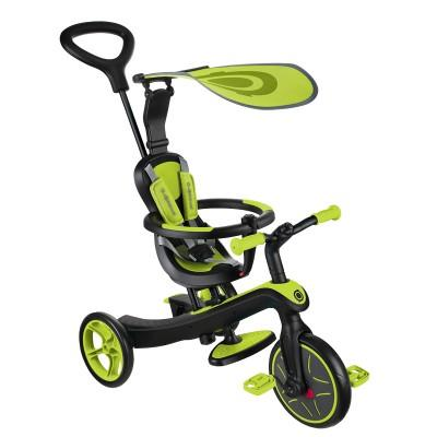 Велосипед Globber Trike Explorer (4 IN 1), Зеленый